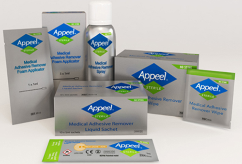 Appeel® Sterile Medical Adhesive Remover range